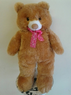 Large bear soft toy L small image